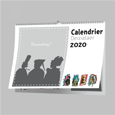 CALENDRIER 2020 A4 5 pages